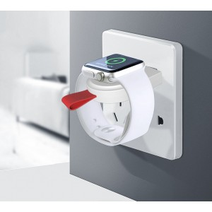 Портативное магнитное беспроводное зарядное USB устройство (2Вт) для Apple Watch Series 1/2/3/4