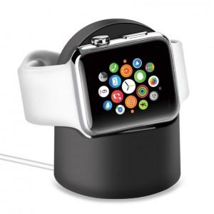 Беспроводное зарядное устройство-подставка (2Вт) для Apple Watch Series 1/2/3/4 Черный