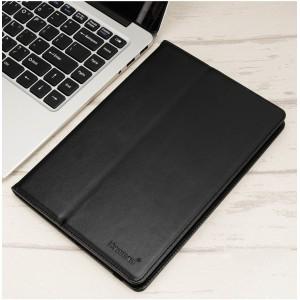 Чехол флип на клеевой основе с отсеком для карт и внутренним карманом для планшета 9 дюймов Черный
