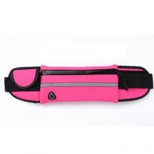 Спортивный чехол - сумка на пояс с отвестием под наушники Пурпурный
