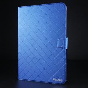 Чехол флип подставка на магнитной защелке с отсеком для карт для планшета 8 дюймов Синий
