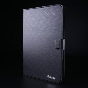 Чехол флип подставка на магнитной защелке с отсеком для карт для планшета 8 дюймов Черный