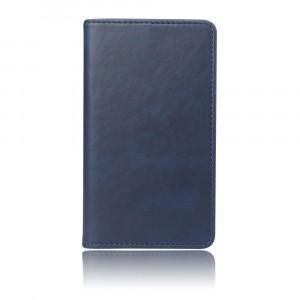 Глянцевый водоотталкивающий чехол портмоне подставка с отсеком для карт на присоске для Samsung Galaxy A20/A30 Синий
