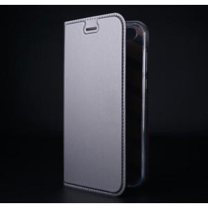 Чехол флип подставка на силиконовой основе с отсеком для карт для ASUS ZenFone 4 ZE554KL Черный