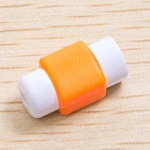 Противоизносный кабельный зажим дизайн Леденец Оранжевый