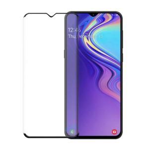 Полноэкранное ультратонкое износоустойчивое сколостойкое олеофобное защитное стекло-пленка для Samsung Galaxy A70 Черный