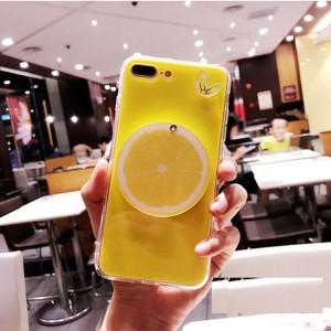 Силиконовый глянцевый непрозрачный дизайнерский чехол со складным зеркалом на задней поверхности для Iphone 7/8 Желтый