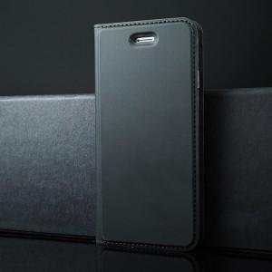 Глянцевый водоотталкивающий чехол флип подставка на силиконовой основе с отсеком для карт для Iphone 7/8