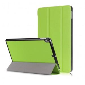 Сегментарный чехол книжка на непрозрачной поликарбонатной основе для Ipad Pro 10.5/Ipad Air (2019) Зеленый