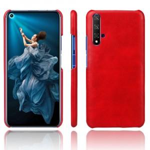 Чехол накладка текстурная отделка Кожа для Huawei Honor 20