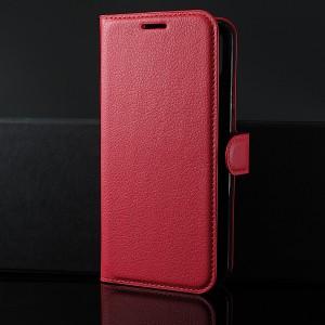 Чехол портмоне подставка на силиконовой основе с отсеком для карт на магнитной защелке для Huawei Honor 8X