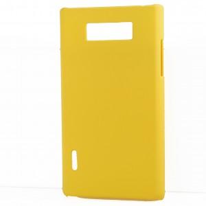 Чехол пластиковый для LG Optimus L7 P705 Желтый