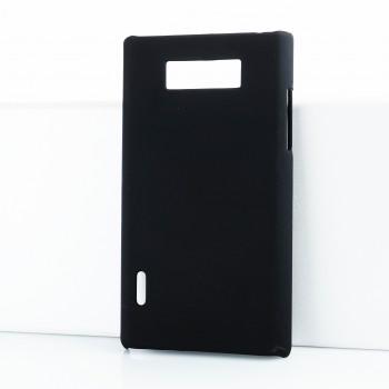 Чехол пластиковый для LG Optimus L7 P705 Черный