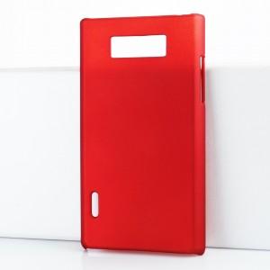 Чехол пластиковый для LG Optimus L7 P705 Красный