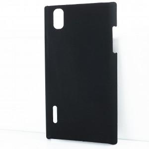 Чехол пластиковый для LG Prada 3.0 P940 Черный