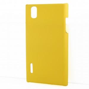 Чехол пластиковый для LG Prada 3.0 P940 Желтый