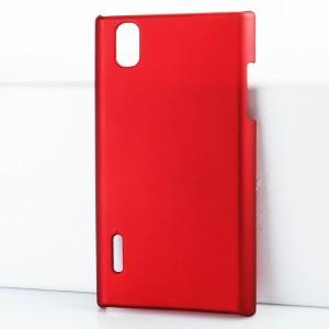 Чехол пластиковый для LG Prada 3.0 P940 Красный
