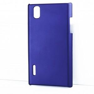 Чехол пластиковый для LG Prada 3.0 P940 Фиолетовый
