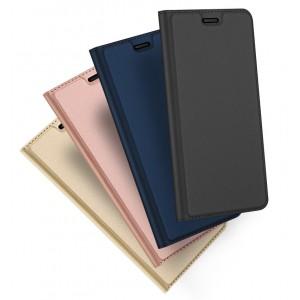 Чехол горизонтальная книжка подставка на силиконовой основе с отсеком для карт для Iphone 7/8