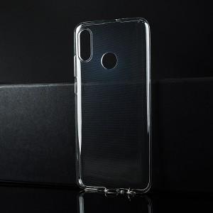 Силиконовый глянцевый транспарентный чехол для Huawei P Smart (2019)/Honor 10 Lite