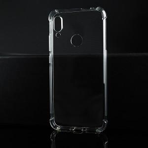 Силиконовый глянцевый транспарентный чехол с усиленными углами для Xiaomi RedMi Note 7