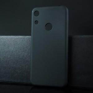 Силиконовый матовый полупрозрачный чехол для Huawei Y6 (2019)/Honor 8A