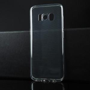 Силиконовый транспарентный чехол для Samsung Galaxy S8