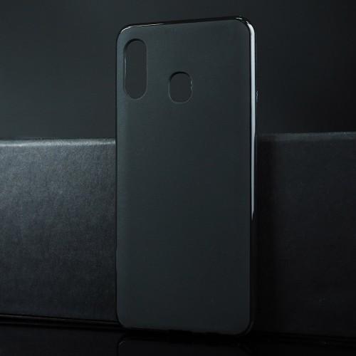 Силиконовый матовый непрозрачный чехол для Samsung Galaxy A20/A30