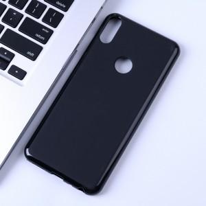 Силиконовый матовый непрозрачный чехол для ASUS ZenFone 5 ZE620KL Черный