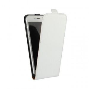 Чехол вертикальная книжка на пластиковой основе с отсеком для карт на магнитной защелке для Iphone 7/8 Белый