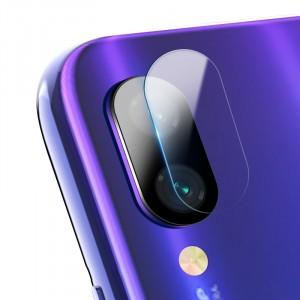 Ультратонкое износоустойчивое сколостойкое олеофобное защитное стекло-пленка на объектив камеры для Xiaomi RedMi Note 7