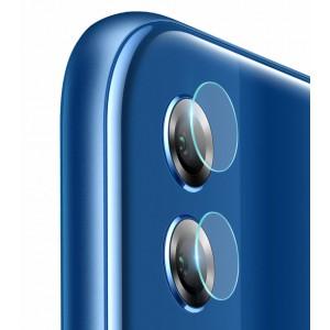 Ультратонкое износоустойчивое сколостойкое олеофобное защитное стекло-пленка на объектив камеры для Huawei Honor 8X