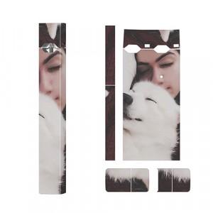 Полноповерхностный стикер с дизайнерским принтом серия Женское для JUUL