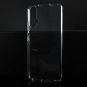 Силиконовый глянцевый транспарентный чехол для Huawei Honor 20