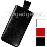 Чехол кожаный мешочек для HTC Windows Phone 8S